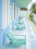 Hotel Verandah, Caye Caulker, Belize Photographic Print by Russell Young