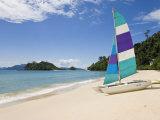 Beach, Pulau Datai, Pulau Langkawi, Langkawi Island, Malaysia Photographic Print by Gavin Hellier