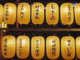 Lanterns, Kyoto, Japan Photographic Print by Demetrio Carrasco