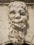 Carved Figure, Santa Maria Formosa, Venice, Italy Photographic Print by Neil Farrin