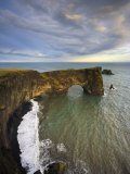 Rock Arch, Dyrholaey, South Coast, Iceland Photographic Print by Michele Falzone
