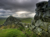 Hadrians Wall, Northumberland, UK Photographic Print by Alan Copson
