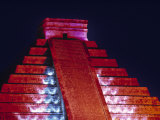 El Castillo Pyramid, Chichen Itza, Yucatan, Mexico Photographic Print by Walter Bibikow