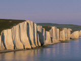 White Cliffs, Seven Sisters, East Sussex, England Photographic Print by Jon Arnold