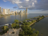 Avenue Balboa and Punta Paitilla, Panama City, Panama Photographic Print by Jane Sweeney