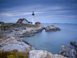 Portland Head Lighthouse, Maine, USA Fotografie-Druck von Alan Copson