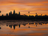 Walter Bibikow - Angkor Wat, Siem Reap, Cambodia Fotografická reprodukce