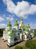 St Sophia Cathedral, Kiev Ukraine Photographic Print by Gavin Hellier