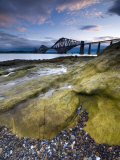 Forth Rail Bridge, Firth of Forth, Edinburgh, Scotland, UK Photographic Print by Alan Copson