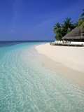 Tropical Beach, Maldives, Indian Ocean Photographic Print by Jon Arnold