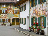 Mittenwald, Luftlmalerei, Bavaria, Germany Photographic Print by Alan Copson