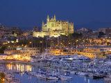 Cathedral, Palma, Mallorca, Spain Fotodruck von Neil Farrin
