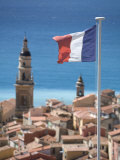 Menton, French Riviera, Cote D'Azur, France Photographic Print by Doug Pearson