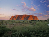 Ayers Rock, Northern Territory, Australia Photographic Print by Alan Copson