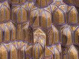 Ceiling, Guri Amir Mausoleum, Samarkand, Uzbekistan Photographic Print by Jane Sweeney
