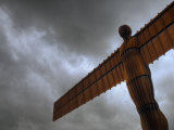Anthony Gormleys Angel of the North, Gateshead, Tyne and Wear, UK Photographic Print by Alan Copson