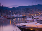 Monte Carlo, Harbour, Monaco Photographic Print by Alan Copson