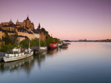 Soder Malarstrand at Dawn, Stockholm, Sweden Photographic Print by Doug Pearson