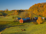 Jenne Farm, Nr Woodstock, Vermont, USA Photographic Print by Alan Copson
