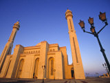 Main Mosque, Bahrain Photographic Print by Neil Farrin