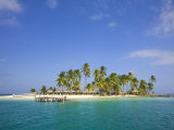 Beach, San Blas Islands, Comarca De Kuna Yala, Panama Photographic Print by Jane Sweeney
