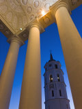 Cathedral and Belfry Tower, Vilnius, Lithuania Photographic Print by Gavin Hellier