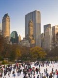 Central Park, Wollman Icerink, Manhattan, New York City, USA Photographic Print by Alan Copson