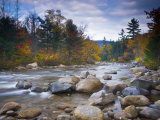 Swift River, White Mountain National Park, New Hampshire, USA Photographic Print by Alan Copson