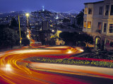 Lombard Street, San Francisco, USA Photographic Print by Neil Farrin