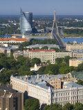 City Skyline, Riga, Latvia Photographic Print by Doug Pearson