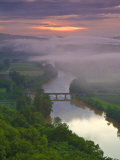 Dordogne River, Dordogne, Aquitaine, France Photographic Print by Doug Pearson