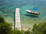 Hvarski Channel, Bol, Brac Island, Central Dalmatia, Croatia Photographic Print by Walter Bibikow