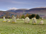 Castlerigg Stone Circle, Keswick, Lake District, Cumbria, England Photographic Print by Gavin Hellier