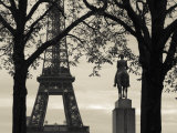 Eiffel Tower, Paris, France Photographic Print by Walter Bibikow