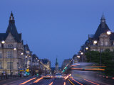 Avenue De La Liberte, Luxembourg City, Luxembourg Photographic Print by Walter Bibikow