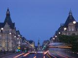 Avenue De La Liberte, Luxembourg City, Luxembourg Photographic Print by Walter Bibikow