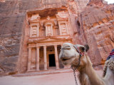 The Treasury, Petra, Jordan Photographic Print by Michele Falzone