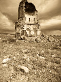 Church of the Redeemer, Ani Ruins, Kars, Eastern Turkey, Turkey Photographic Print by Jane Sweeney