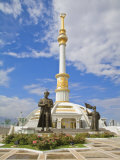Monument to the Independence of Turkmenistan, Independance Park, Berzengi Ashgabat, Turkmenistan Photographic Print by Jane Sweeney