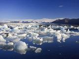 Jokulsarlon Iceberg Lagoon, Iceland Photographic Print by Michele Falzone