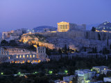 Parthenon, Acropolis, Athens, Greece Photographic Print by Walter Bibikow