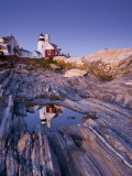 Pemaquid Point Lighthouse, Maine, USA Fotografie-Druck von Alan Copson