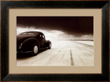 1940 Coupe at Takeoff Posters by David Perry