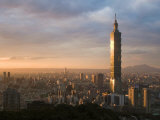 Taipei 101, Taipei, Taiwan Photographic Print by Michele Falzone