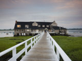 Annisquam Yacht Club, Gloucester, Cape Ann, Massachusetts, USA Photographic Print by Walter Bibikow