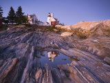 Pemaquid Point Lighthouse, Maine, USA Photographic Print by Alan Copson