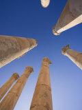 Agora, Jerash, Jordan Photographic Print by Michele Falzone
