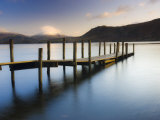 Brandelhow Bay Jetty, Derwentwater, Keswick, Lake District, Cumbria, England Photographic Print by Gavin Hellier