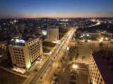 Downtown Amman, Dusk, Jordan Photographic Print by Michele Falzone