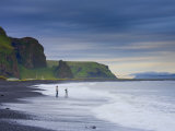Black Sand Beach, Vik, Cape Dyrholaey, South Coast, Iceland Photographic Print by Michele Falzone